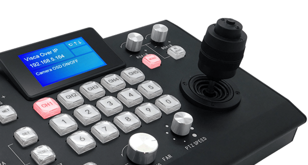 Avonic PTZ controller with joystick